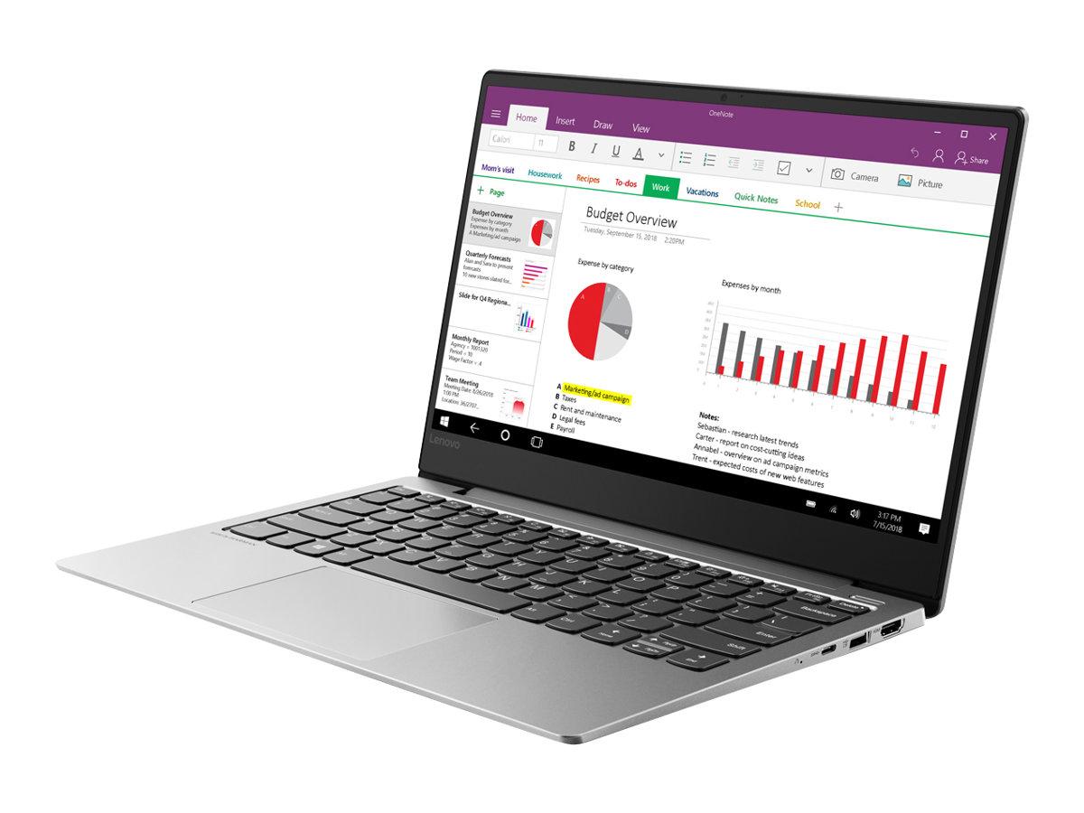 """Lenovo IdeaPad S530-13IWL 81J7 - Core i5 8265U / 1.6 GHz - Win 10 Home 64-Bit - 8 GB RAM - 256 GB SSD - 33.8 cm (13.3"""")"""