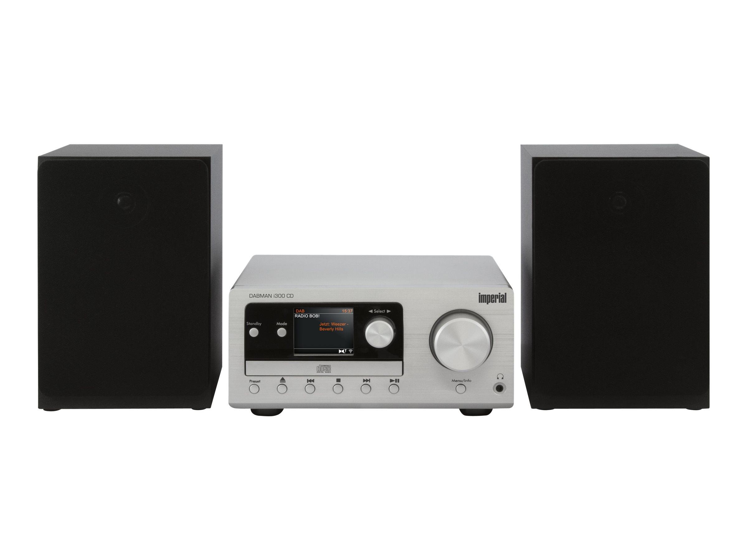 Telestar DABMAN i300 CD - Microsystem - 2 x 20 Watt