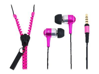 "LogiLink - ""Zipper"" - Stereo - In-Ear Headset - kabelgebunden"