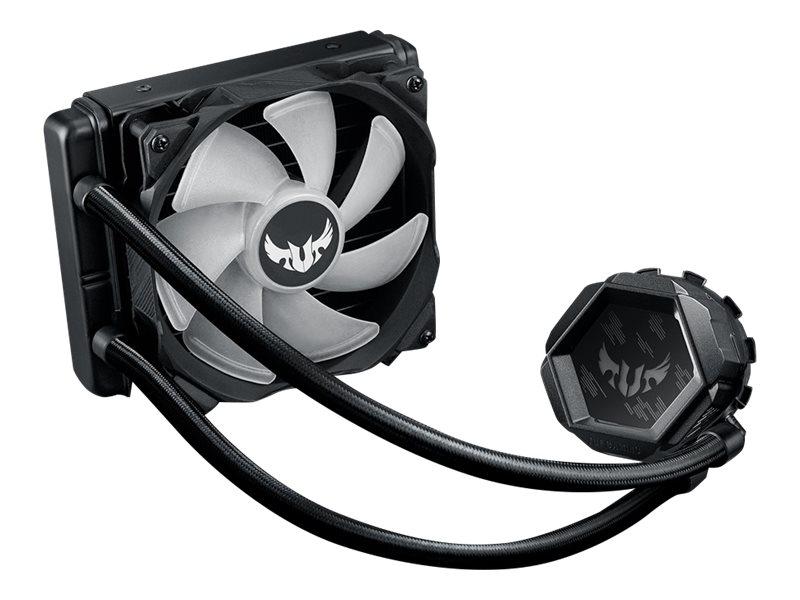 ASUS TUF Gaming LC 120 RGB - Prozessor-Flüssigkeitskühlsystem - (für: LGA1156, LGA1366, LGA1155, LGA1150, LGA1151, AM4, LGA1200)