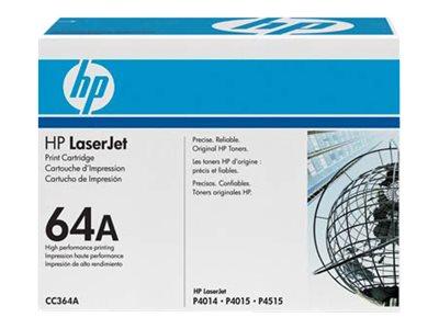 HP 64A - Schwarz - Original - LaserJet - Tonerpatrone (CC364A)