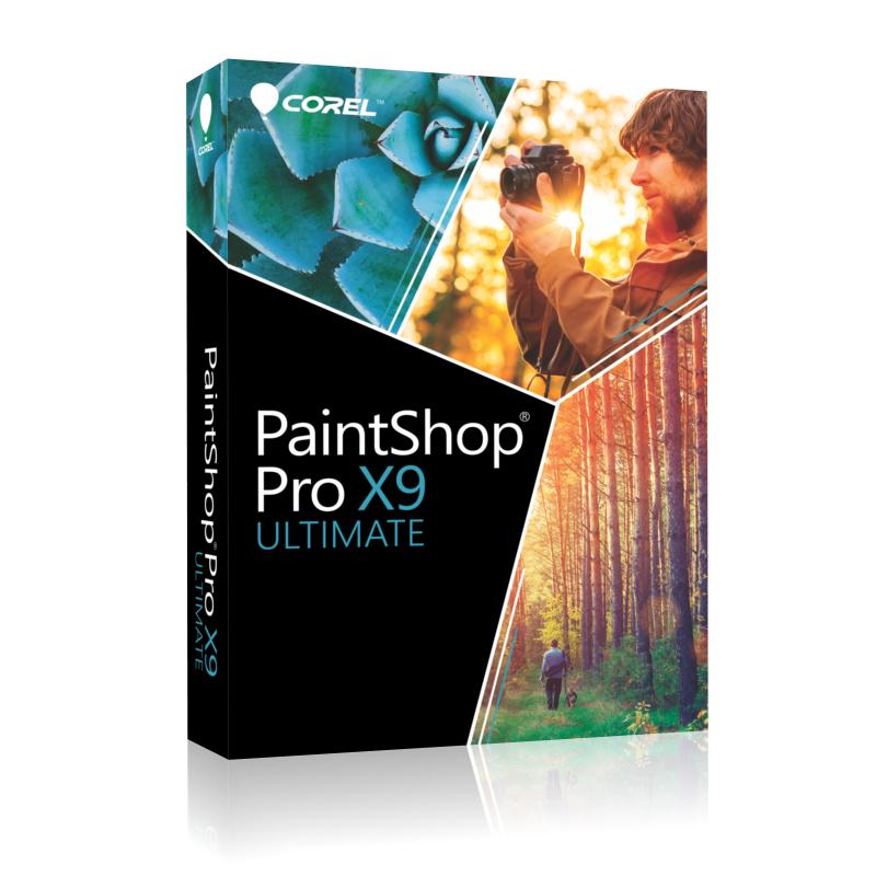 Corel PaintShop Pro X9 Ultimate - Box-Pack - 1 Benutzer ( Mini-Box )