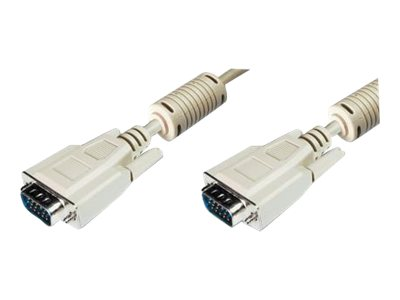DIGITUS VGA-Kabel - HD-15 (VGA) (M) bis HD-15 (VGA)