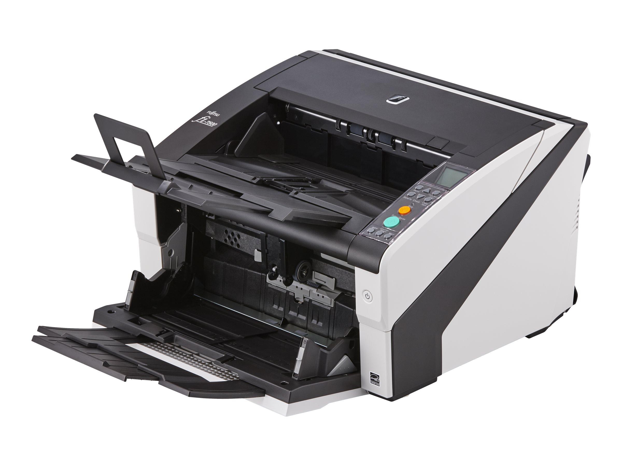 Fujitsu fi-7800 - Dokumentenscanner - Duplex - 304.8 x 431.8 mm - 600 dpi x 600 dpi - bis zu 110 Seiten/Min. (einfarbig)