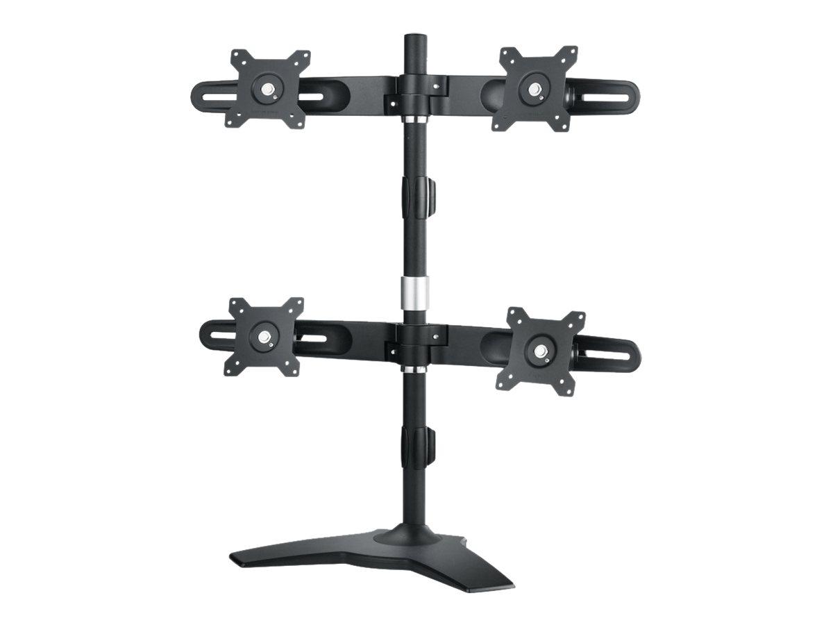 AG Neovo DMS-01Q - Befestigungskit (Spannbefestigung für Tisch) für 4 LCD-Anzeigen (neig- und schwenkbar)