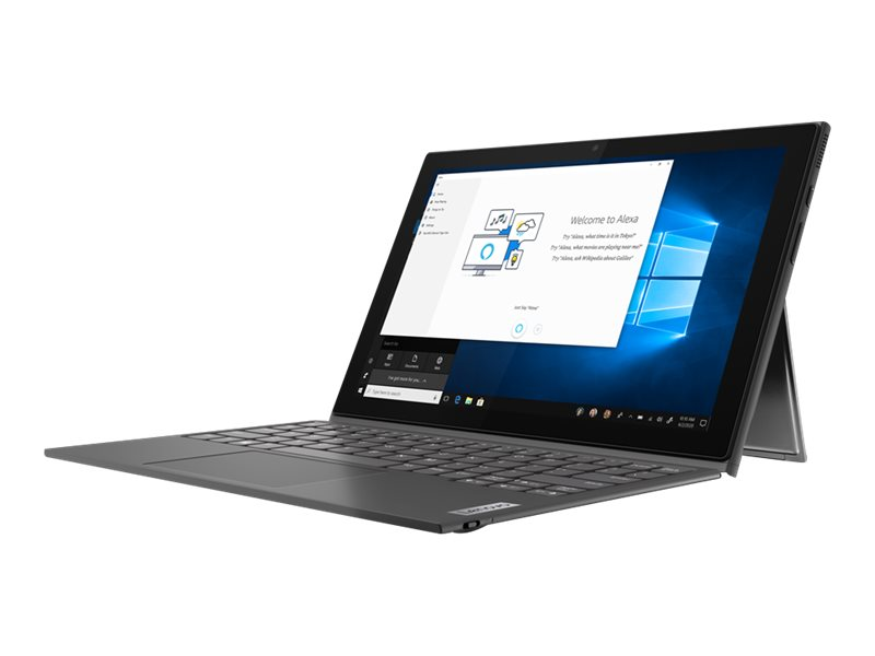 """Lenovo IdeaPad Duet 3 10IGL5 82AT - Tablet - mit abnehmbarer Tastatur - Pentium Silver N5030 / 1.1 GHz - Win 10 Pro 64-Bit - 8 GB RAM - 128 GB eMMC - 26.2 cm (10.3"""")"""