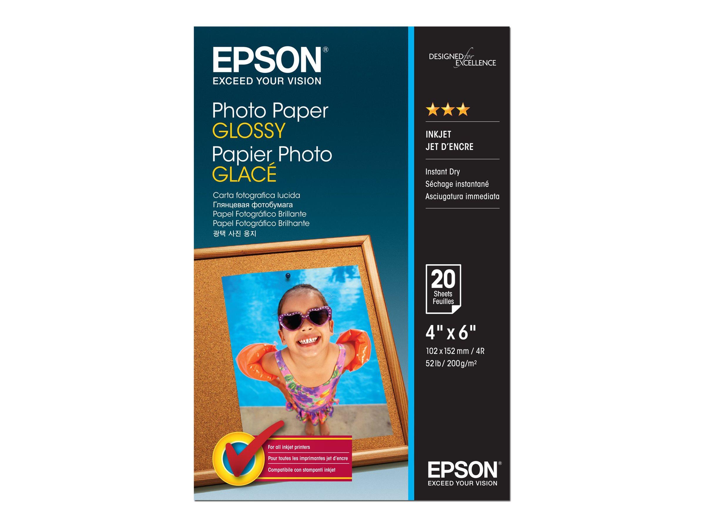 Epson Glänzend - 102 x 152 mm