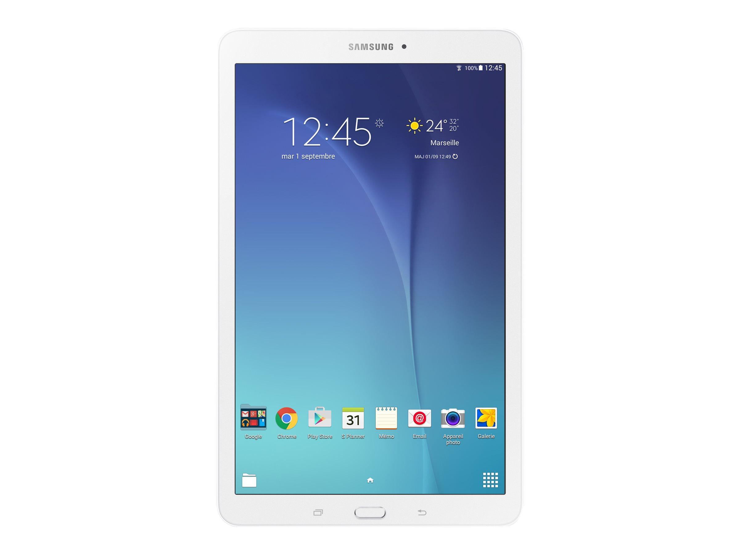 """Samsung Galaxy Tab E 8 GB Schwarz, Wei? - 9,6"""" Tablet - 1,3 GHz 24,4cm-Display"""