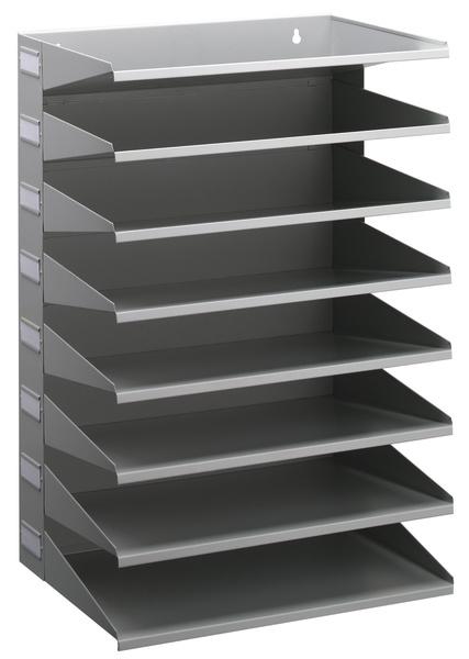 Vorschau: Durable 3361-10 - Polyester - Stahl - Grau - 360 mm - 540 mm - 250 mm