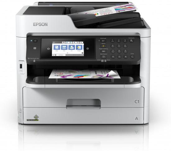 Epson WorkForce Pro WF-C5710DWF - Multifunktionsdrucker - Farbe - Tintenstrahl - A4/Legal