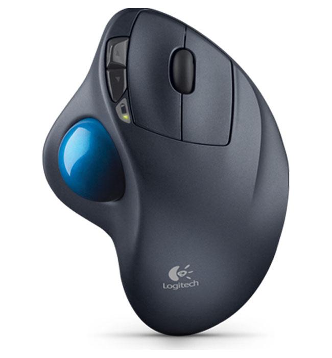 Logitech M570 RF Wireless Schwarz Maus