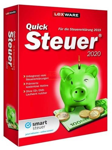 Lexware QuickSteuer 2020 - Box-Pack - Deutsch