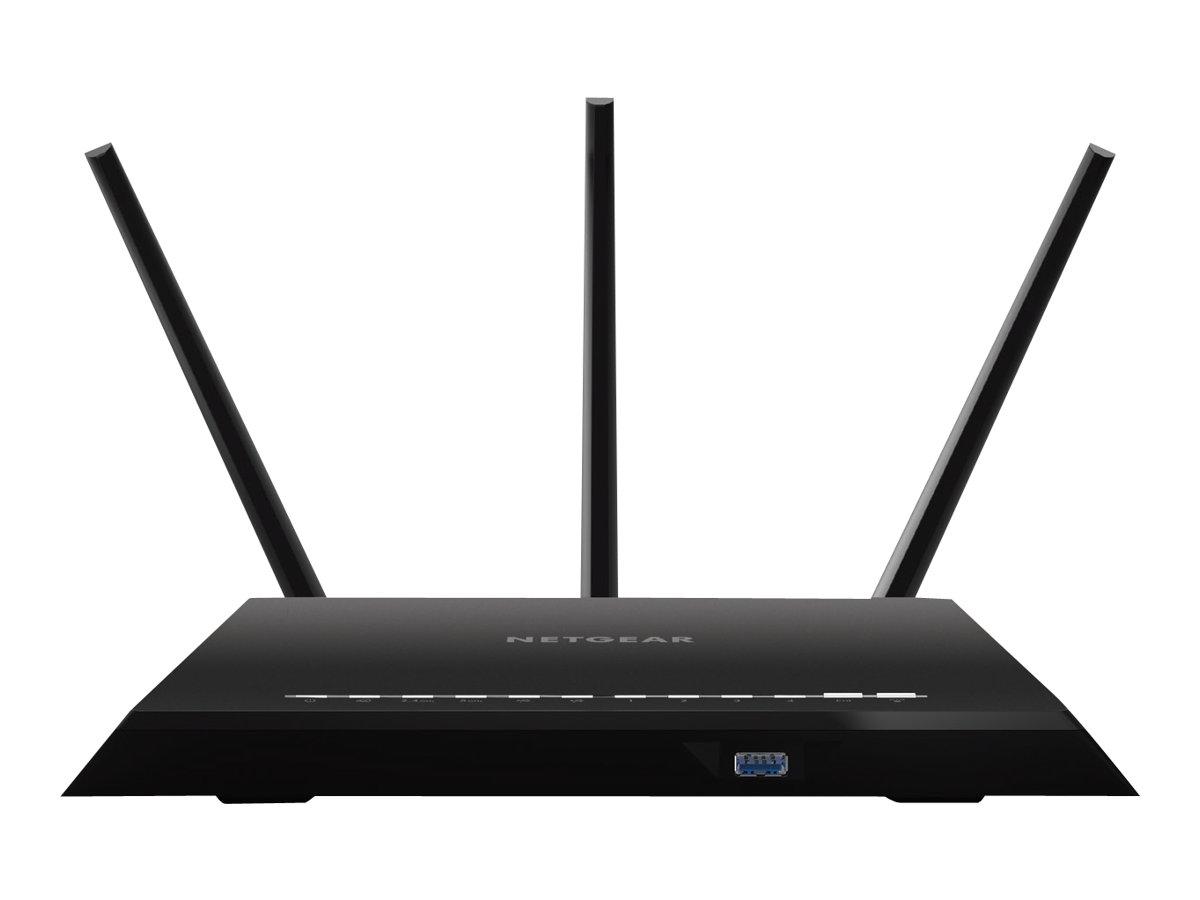 Netgear R7000 - Wireless Router - 4-Port-Switch