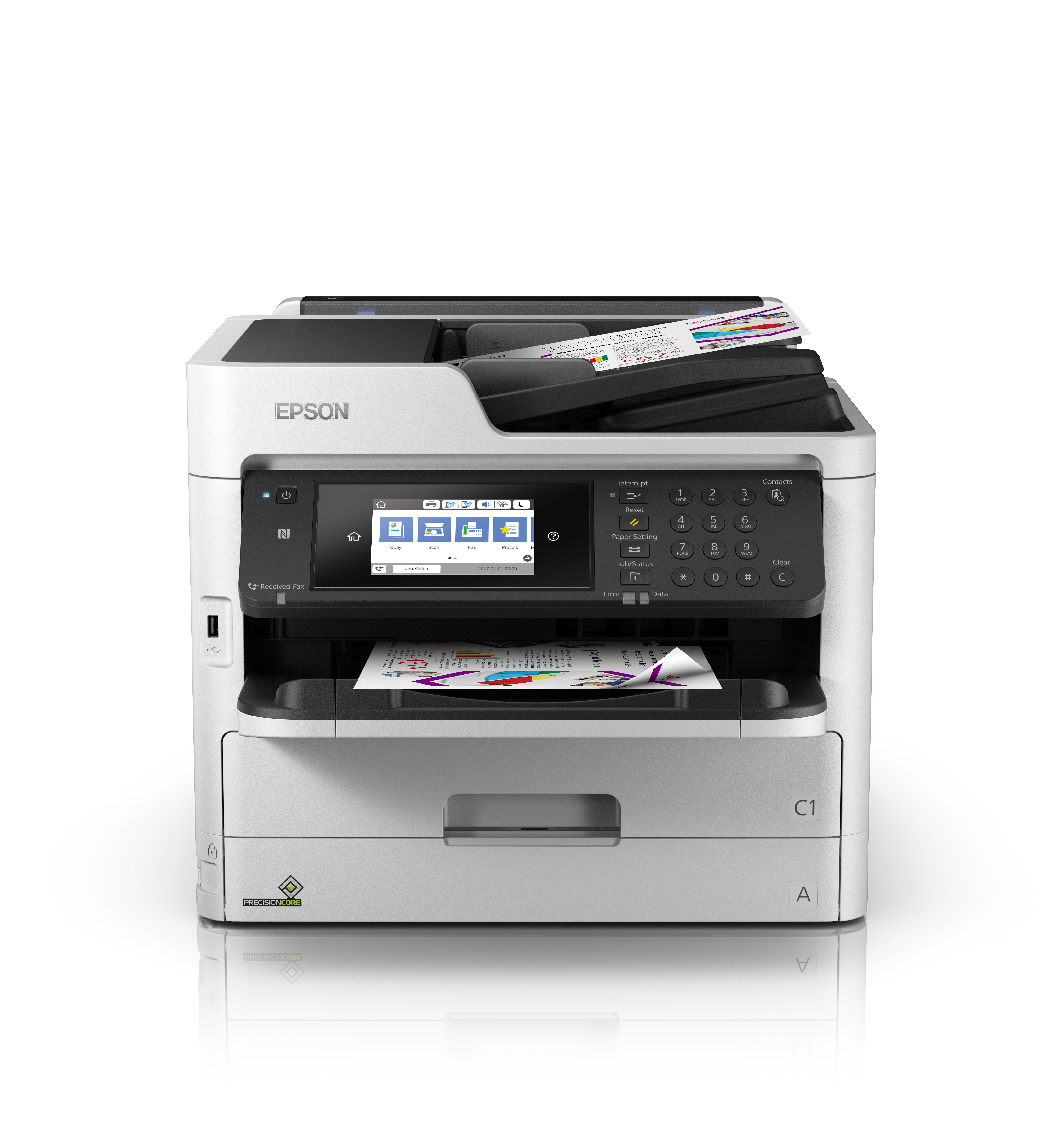 Epson WorkForce Pro WF-C5790DWF, Tinte, MFP, A4
