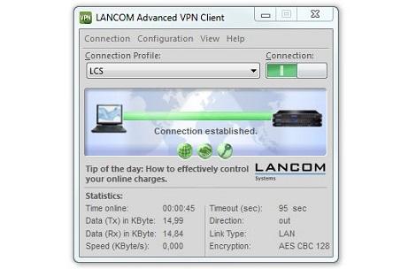 Lancom Advanced VPN Client - Lizenz - 25 Benutzer