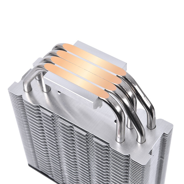 Thermaltake TOUGHAIR 510 - Prozessor-Luftkühler - (für: LGA1156, AM2, AM2+, AM3, LGA1155, AM3+, FM1, FM2, LGA1150, LGA1151, AM4, LGA1200)