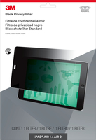 Blickschutzfolie für Mobiltelefon (Querformat) - Schwarz - für Apple iPad Air; iPad Air 2