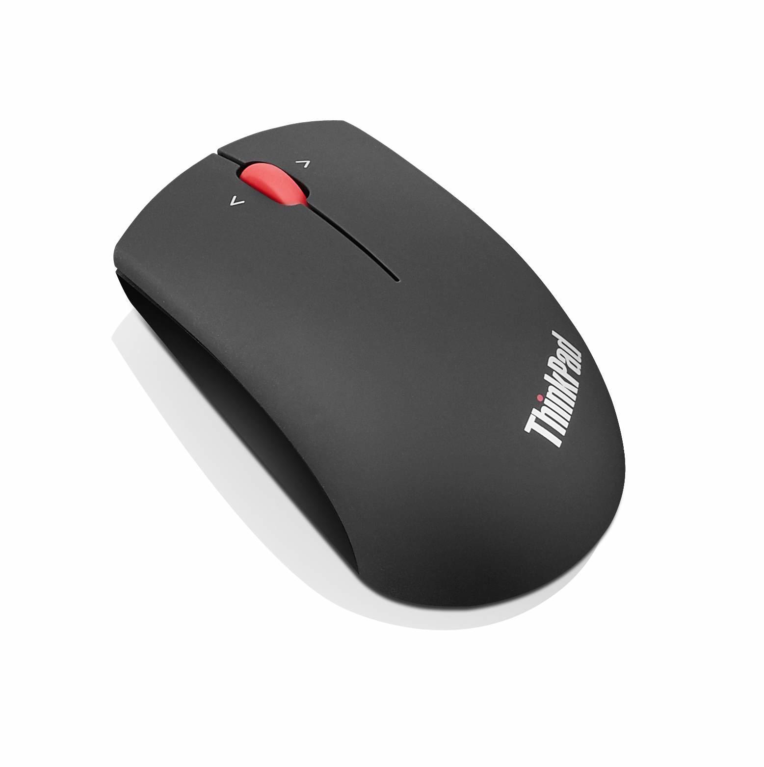 Lenovo Precision Wireless Mouse - Maus - 1.200 dpi Optisch - 3 Tasten - Schwarz