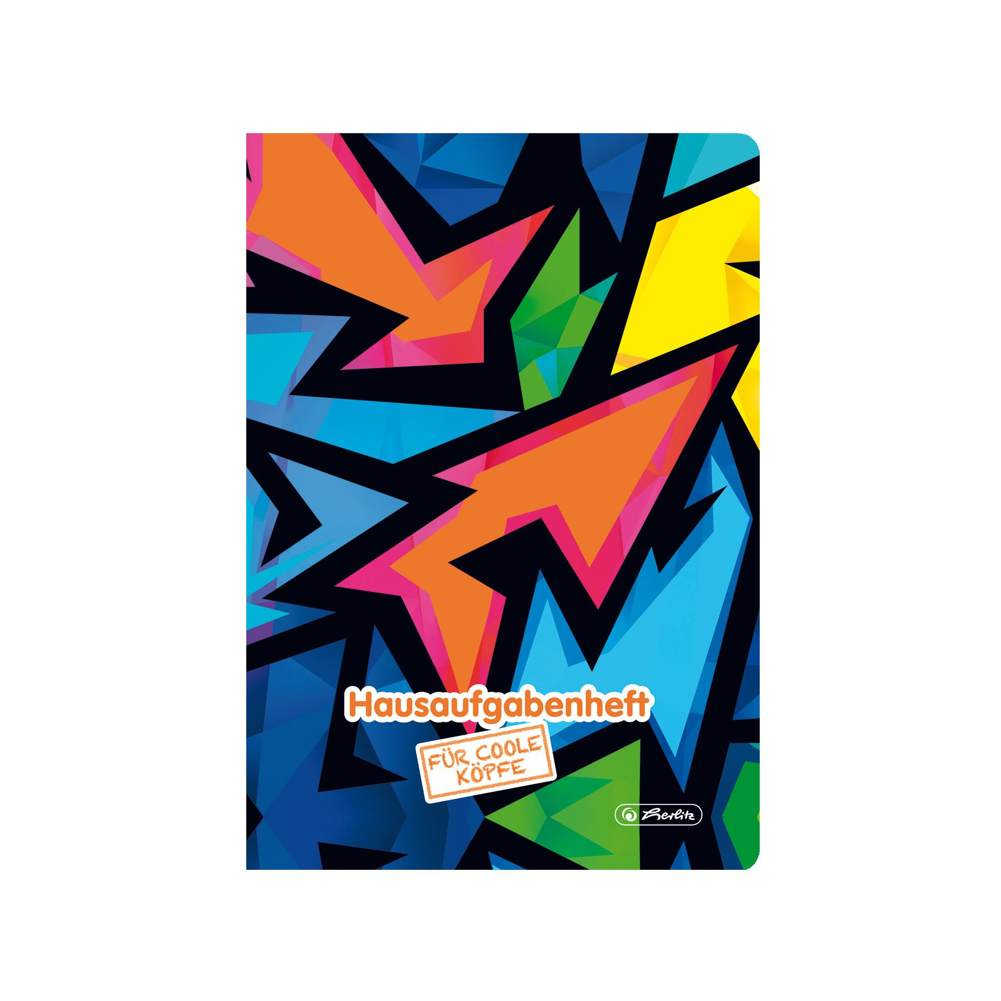 Herlitz 50027910 - Mehrfarbig - 48 Blätter - A5 - 80 g/m² - Junge/Mädchen - Papier