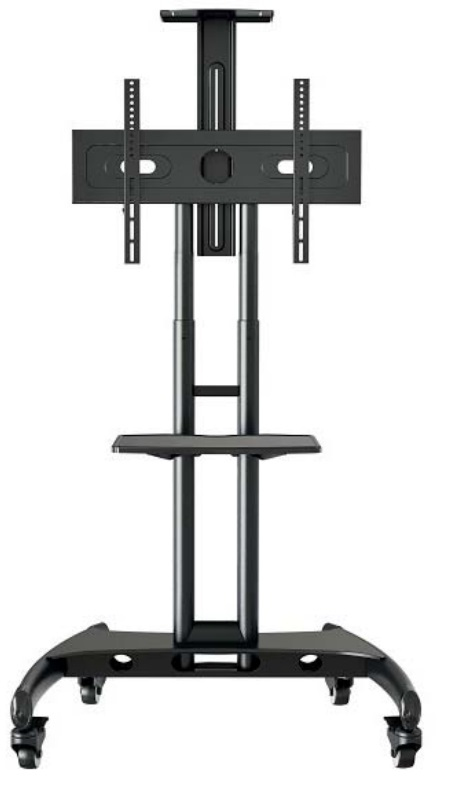 Peerless TRVT561 60Zoll Portable flat panel floor stand Schwarz Flachbildschirm-Bodenhalter