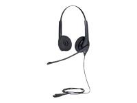 BIZ 1500 Duo QD Binaural Kopfband Schwarz
