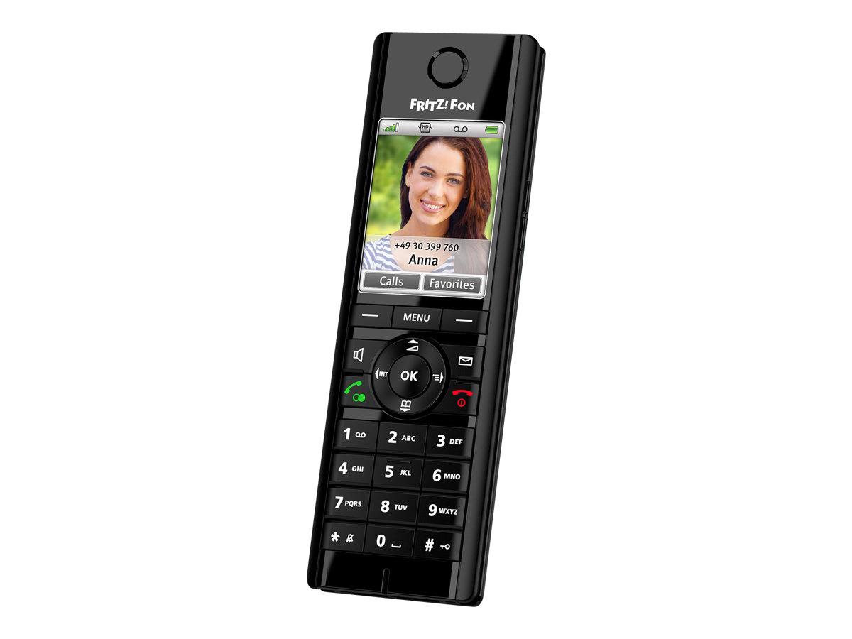 AVM FRITZ!Fon C5 - Schnurloses VoIP-Telefon - mit Internetradio, Netzwerk-Audioplayer