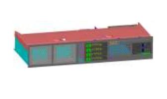 Fujitsu S26361-F1373-L423 2.5Zoll Schwarz - Rot Speichergehäuse