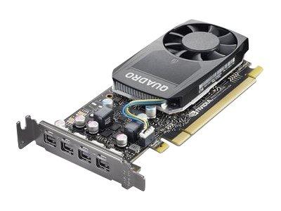 Lenovo NVIDIA Quadro P620 - Grafikkarten - Quadro P620 - 2 GB GDDR5 Low-Profile - 4 x Mini DisplayPort - für ThinkStation P320 30BJ (SFF)