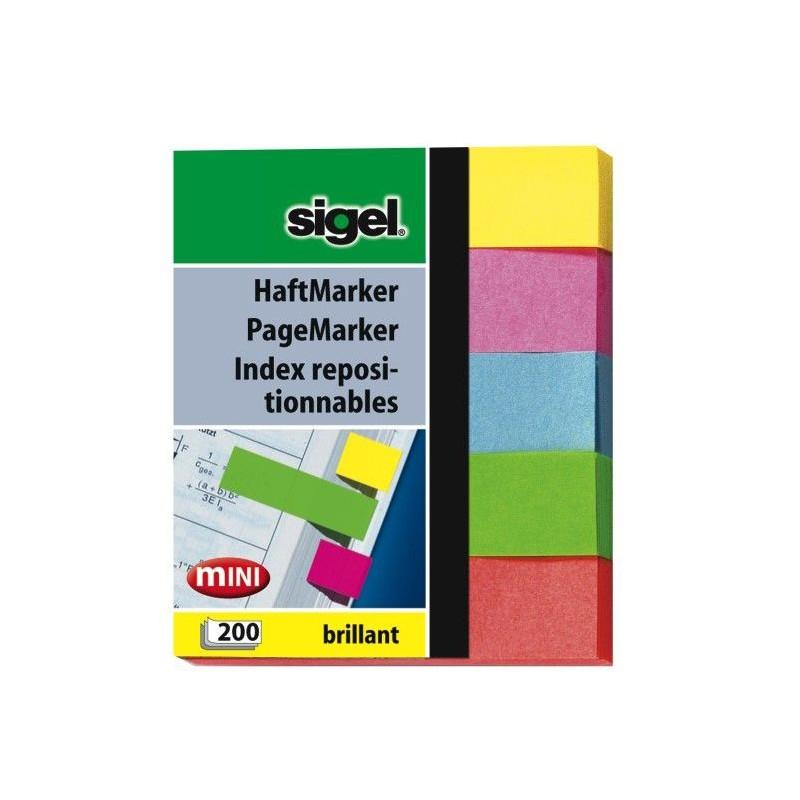 Sigel HN625 Blau - Grün - Rot - Gelb 200Stück(e) selbstklebendes Etikett