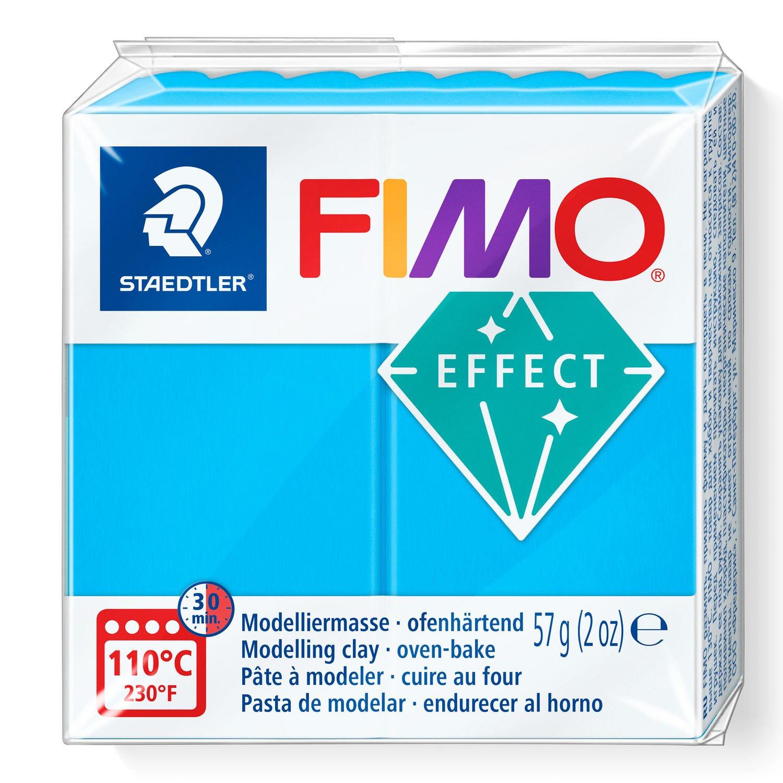 Vorschau: STAEDTLER FIMO 8020 - Knetmasse - Blau - Durchscheinend - Erwachsene - 1 Stück(e) - 1 Farben - 110 °C