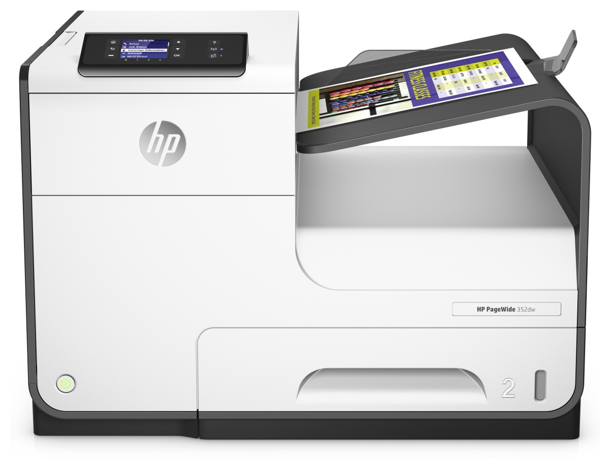 HP PageWide 352dw - Drucker - Farbe