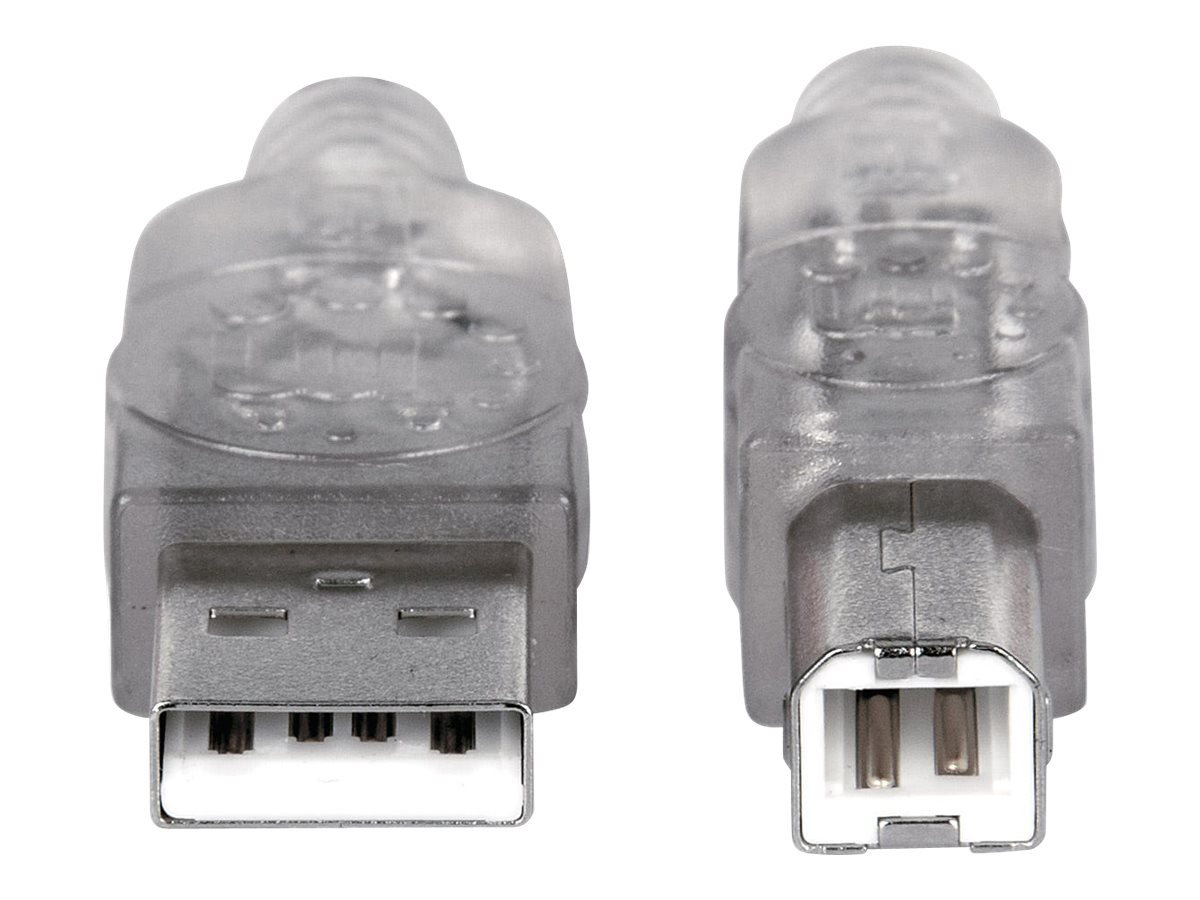 Manhattan USB-A to USB-B Cable, 1.8m, Male to Male, 480 Mbps (USB 2.0)