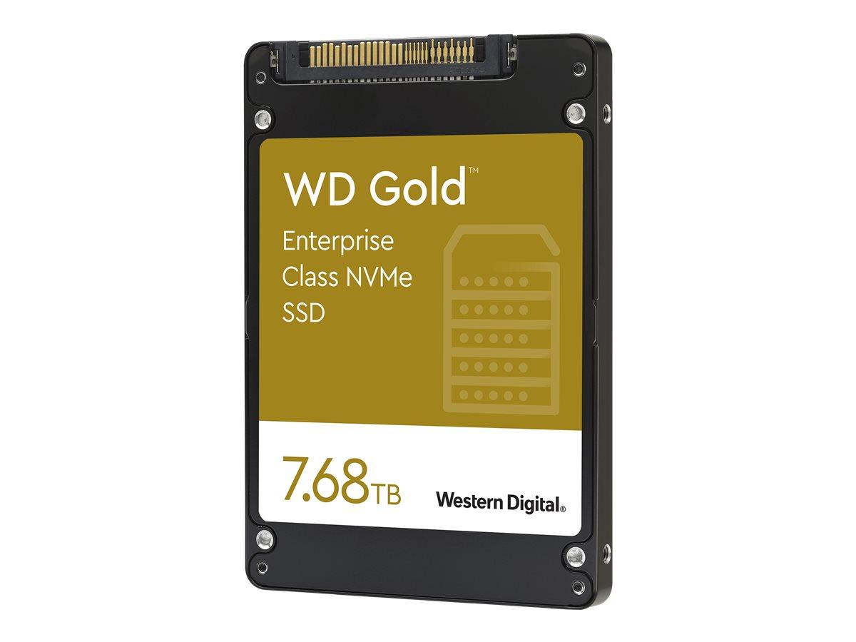 """Vorschau: WD Gold Enterprise-Class SSD WDS768T1D0D - Solid-State-Disk - 7.68 TB - intern - 2.5"""" (6.4 cm)"""
