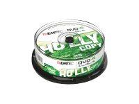 EMTEC 25 x DVD-R - 4.7 GB (120 Min.) 16x - Silber