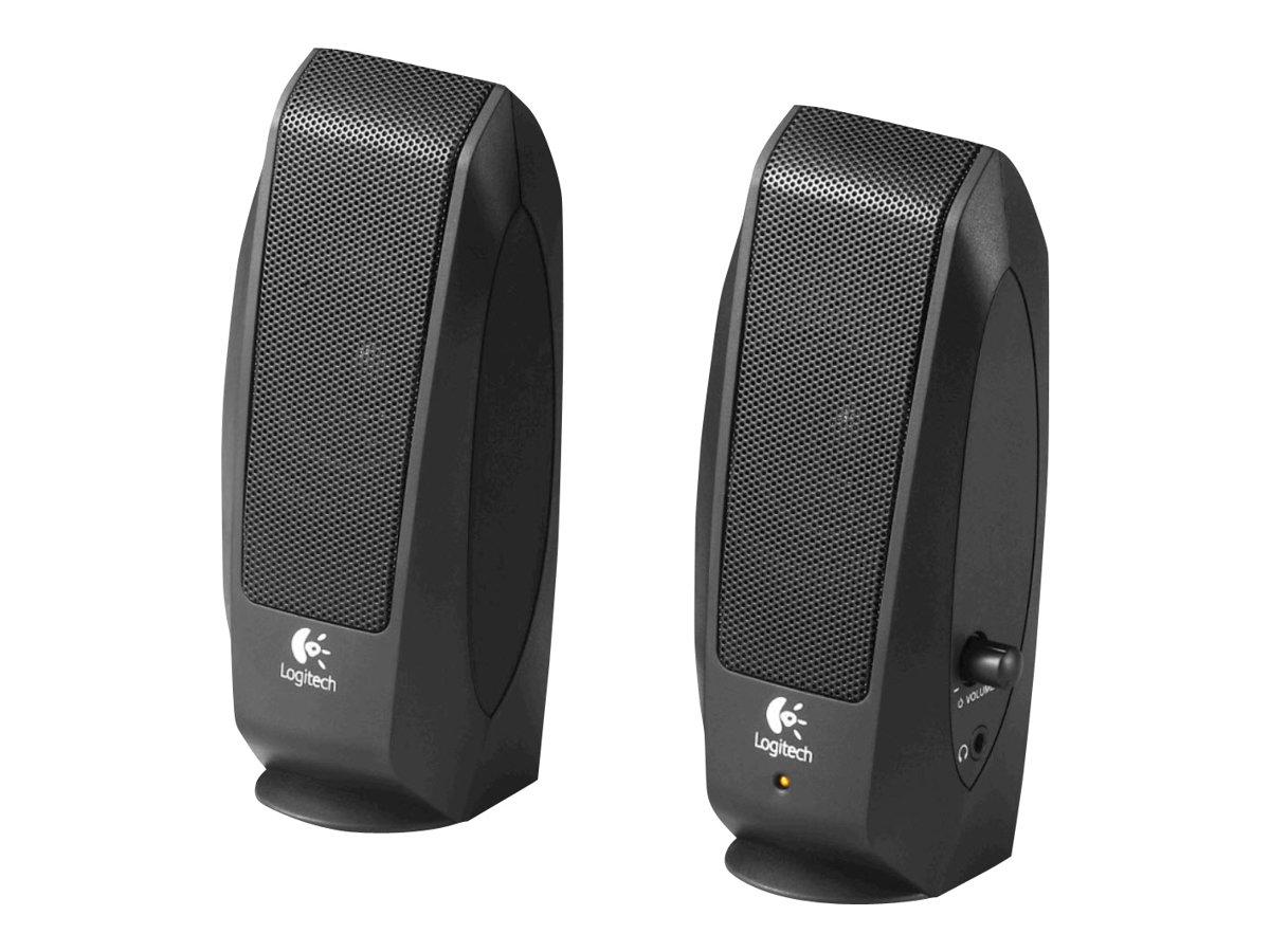 Logitech S-120 - Lautsprecher - für PC - 2.3 Watt (Gesamt)