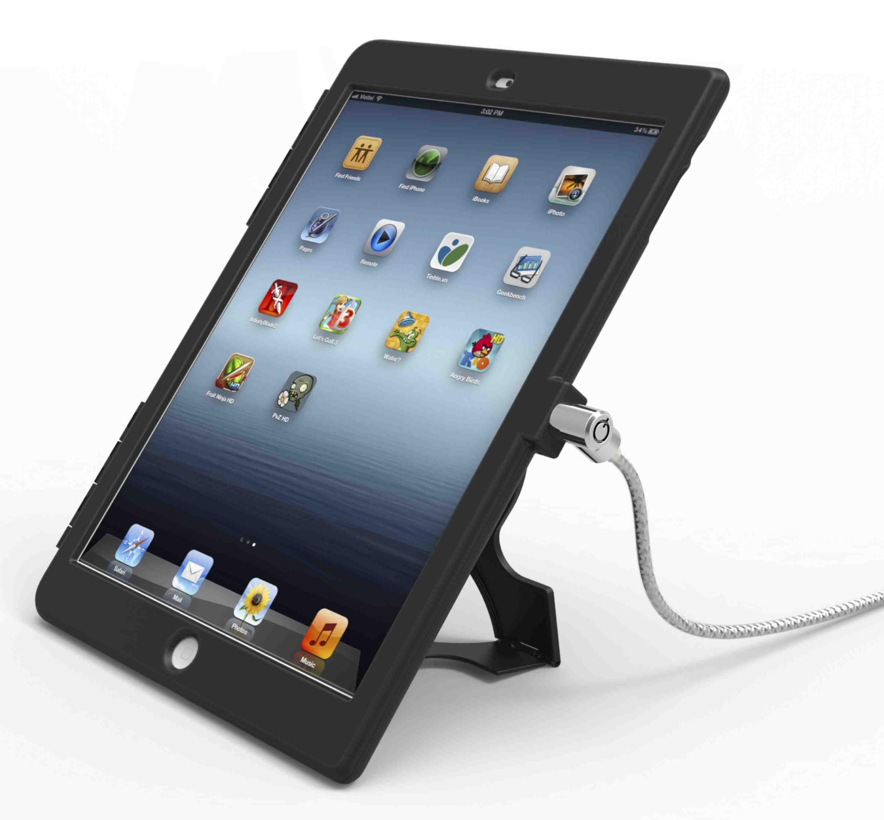 "Compulocks IPADAIRBB Cover Apple iPad Air 2 24.6 cm (9.7"") Black"