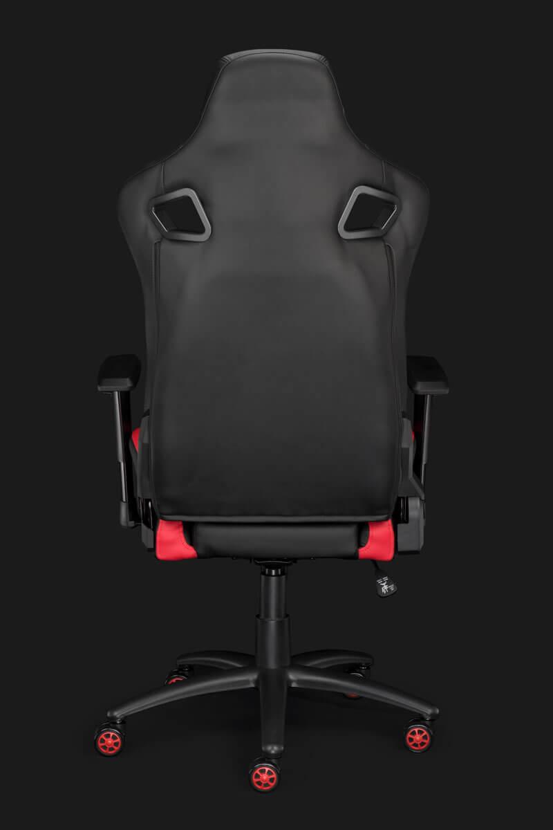 Nitho COBRA GM-1 - PC-Gamingstuhl - Universal - Schwarz - Schwarz - 2D-Armlehne - 5 Rad/Räder