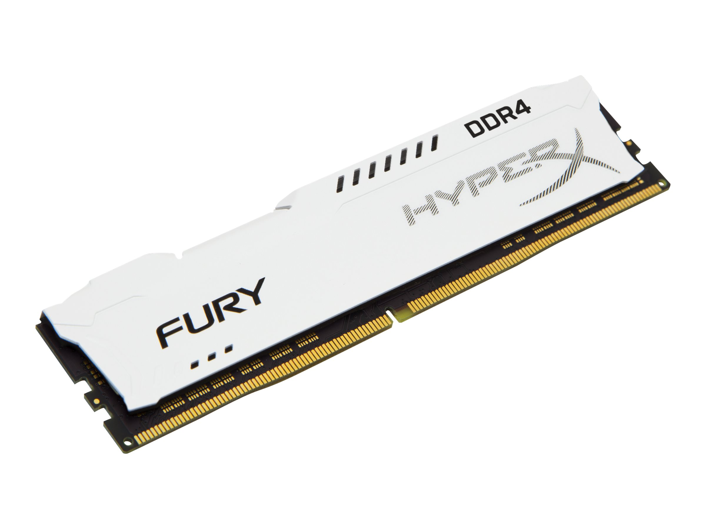 Kingston HyperX FURY - DDR4 - 16 GB - DIMM 288-PIN - 3200 MHz / PC4-25600 CL18 - 1.2 V - ungepuffert - non-ECC - weiß