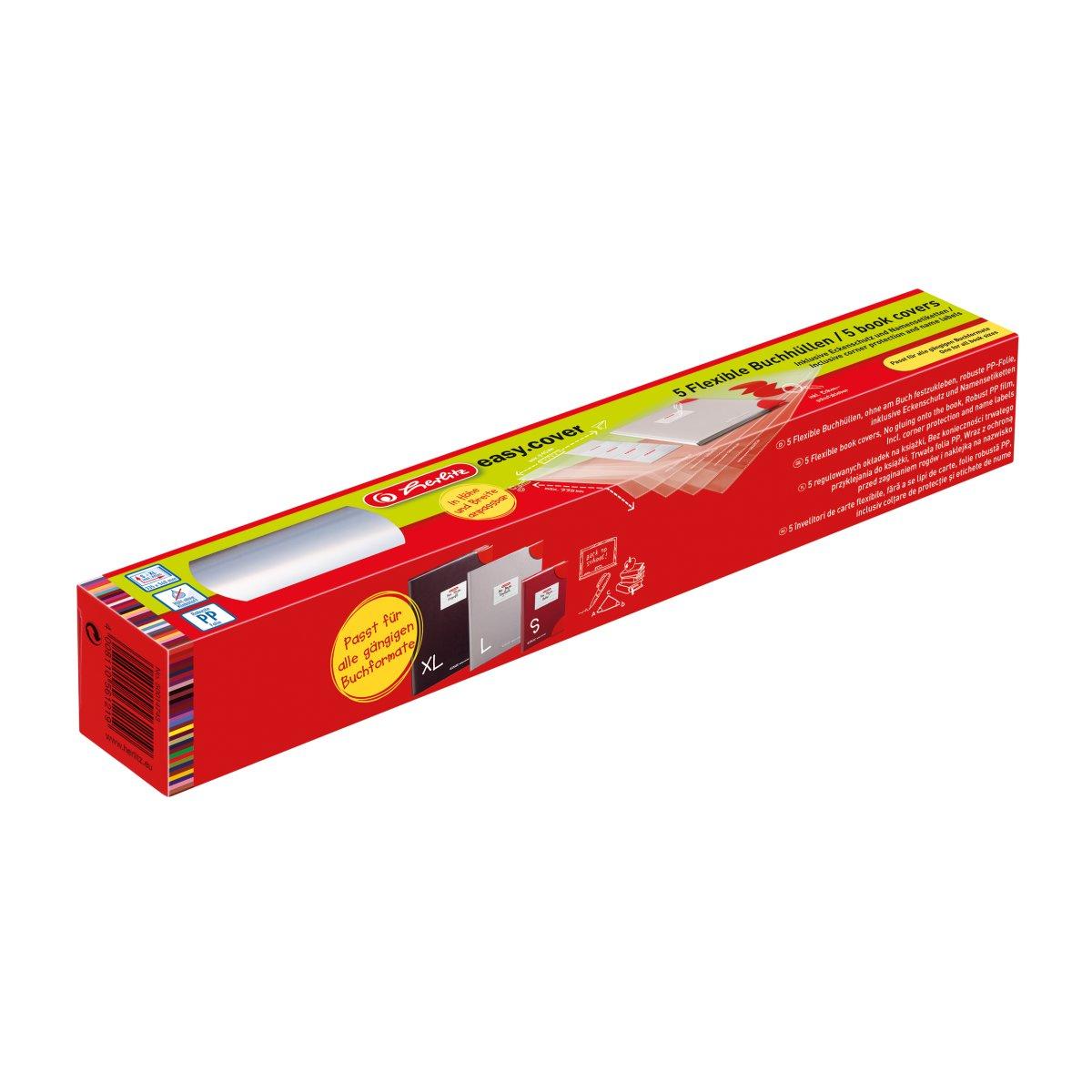 Herlitz 50014743 - Transparent - Polypropylen (PP) - 340 mm - 585 mm - 5 Stück(e)