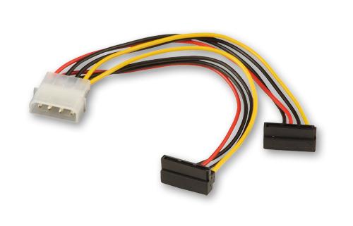 Lindy Stromkabel - 15 PIN SATA Power - interne Stromversorgung, 4-polig (M)