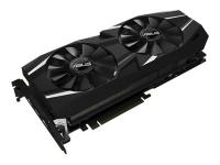 DUAL-RTX2080TI-O11G - GeForce RTX 2080 Ti - 11 GB - GDDR6 - 352 Bit - 7680 x 4320 Pixel - PCI Express 3.0