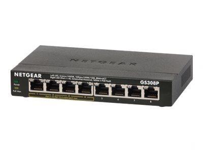 Netgear GS308P - Switch - nicht verwaltet