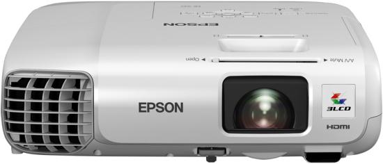 Epson EB-945H Desktop-Projektor 3000ANSI Lumen 3LCD XGA (1024x768) Weiß Beamer