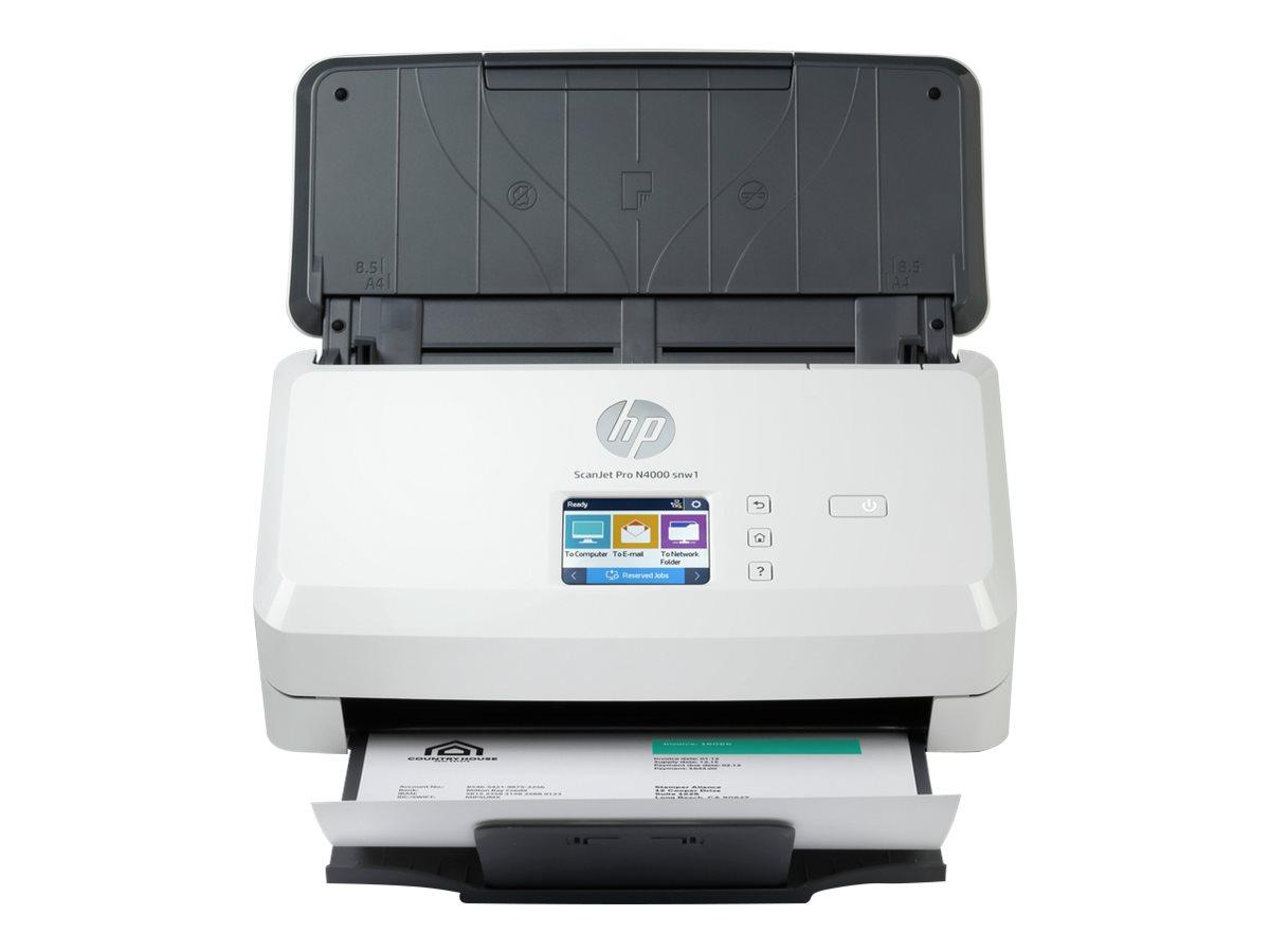 HP Scanjet Pro N4000 snw1 Sheet-feed - Dokumentenscanner - CMOS / CIS - Duplex - 216 x 3100 mm - 600 dpi x 600 dpi - bis zu 40 Seiten/Min. (einfarbig)