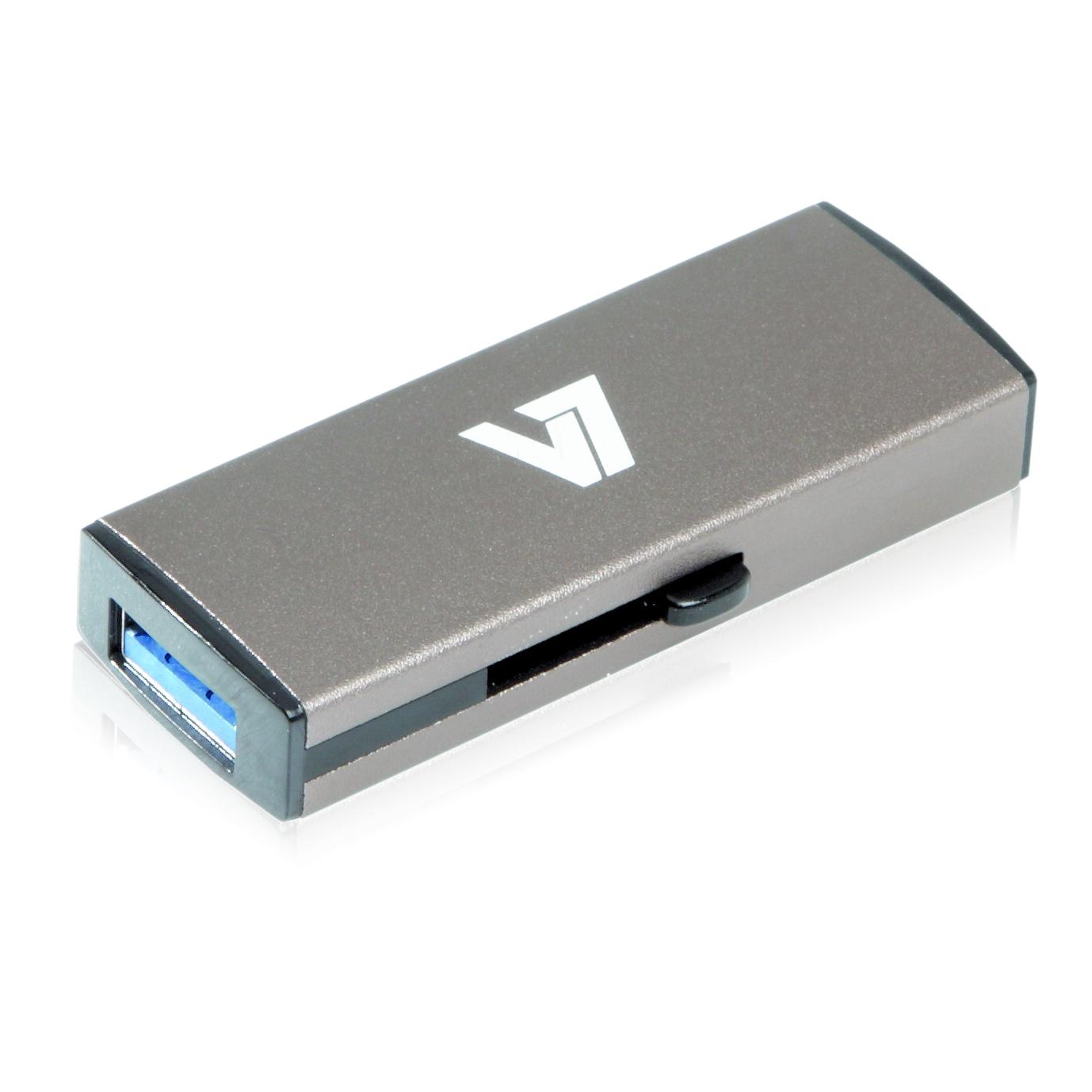 V7 VU332GDR-GRY-2E - USB-Flash-Laufwerk - 32 GB