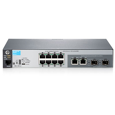 HP Enterprise Hewlett-Packard Hp 2530-8G Switch - - verwaltet - 8 x 10/100/1000+ 2 - Switch - Glasfaser (LWL)
