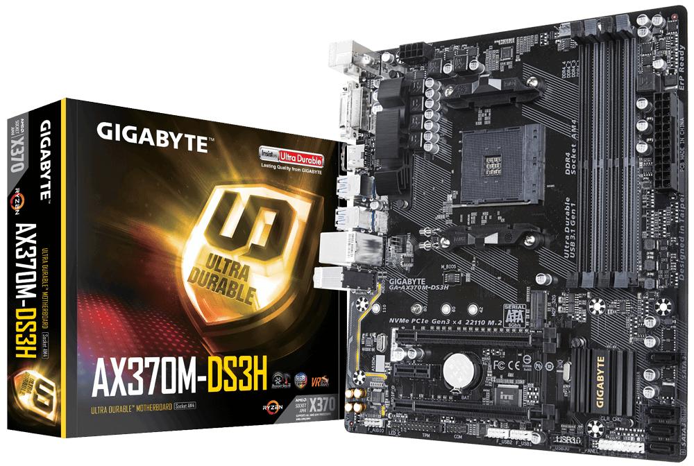 Gigabyte-GA-AX370M-DS3H-GA-AX370M-DS3H-AMD-X370-Socket-AM4-Micro-ATX-motherboard