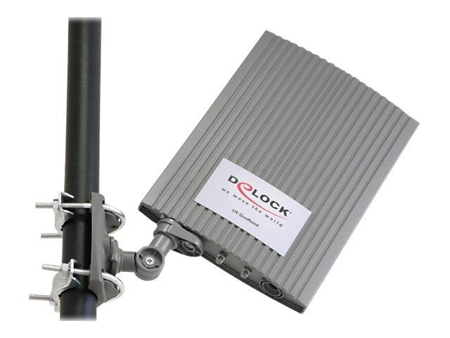 Delock LTE MIMO Band 1/3/7/20 Antenna - Antenne - Navigation, Mobiltelefon, Wi-Fi, Bluetooth - 2 dBi (für 790 - 870 MHz)