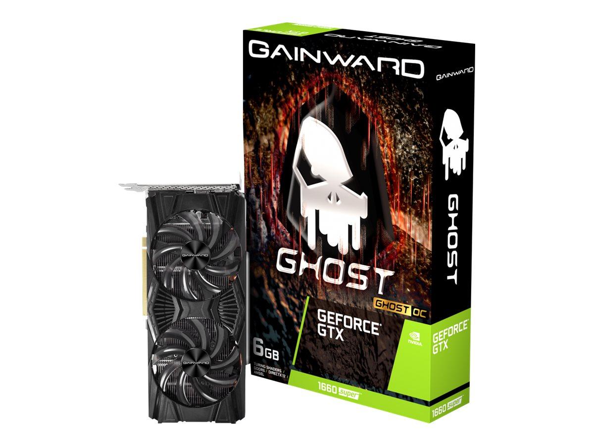 Vorschau: Gainward GeForce GTX 1660 SUPER Ghost OC - Grafikkarten