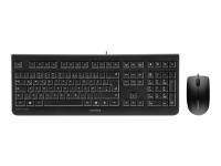 DC 2000 Tastatur USB QWERTZ Deutsch Schwarz